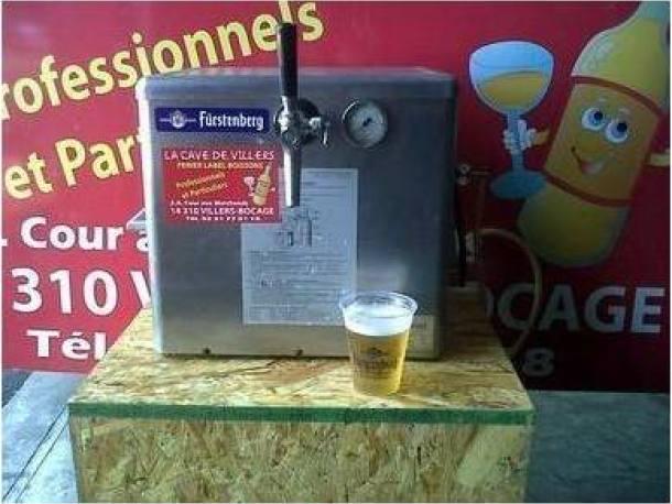 Tireuse à biere villers bocage 14
